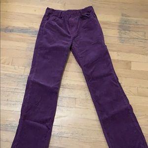 Purple Corduroy Pants